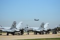 F-18Cs VFA-125 at Louisville KY 2009.JPG