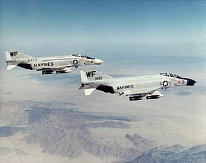 1962 United States Tri-Service aircraft designation system - Before the introduction of the tri-service designation system, the F-4 Phantom II was designated F4H by the U.S. Navy, and F-110 Spectre by the U.S. Air Force
