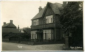 Oare, Wiltshire - Oare in 1932, by Fred C. Palmer