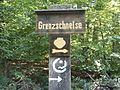 FFM Stadtwald Grenzschneise Wegweiser.jpg