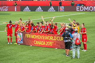 England at the FIFA Womens World Cup