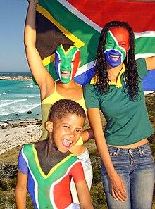 drapeau de l afrique du sud