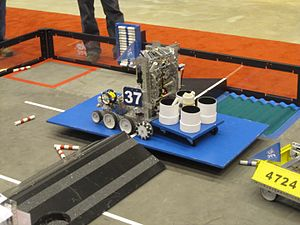 Get Over It! - FTC teams 37 and 4724 playing Get Over It!