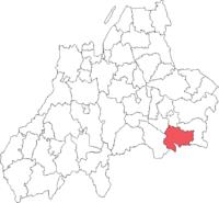 Korsberga landskommune i Jönköpings amt