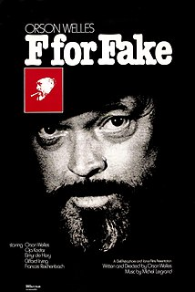 <i>F for Fake</i> 1974 film by Orson Welles