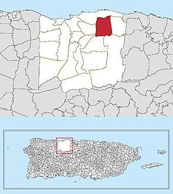 map of arecibo puerto rico Factor Arecibo Puerto Rico Wikipedia map of arecibo puerto rico