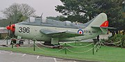 Fairey Gannet ECM.6 at Flambards Theme Park.jpg