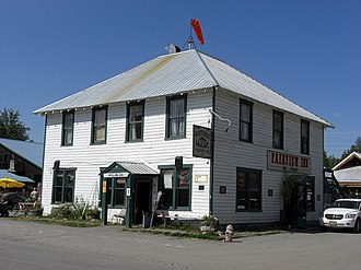 Talkeetna, Alaska - Fairview Inn.
