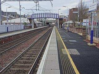 Falkirk Grahamston railway station