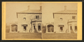 Family posing in front and in the porch of Stone House, from Robert N. Dennis collection of stereoscopic views 4.png