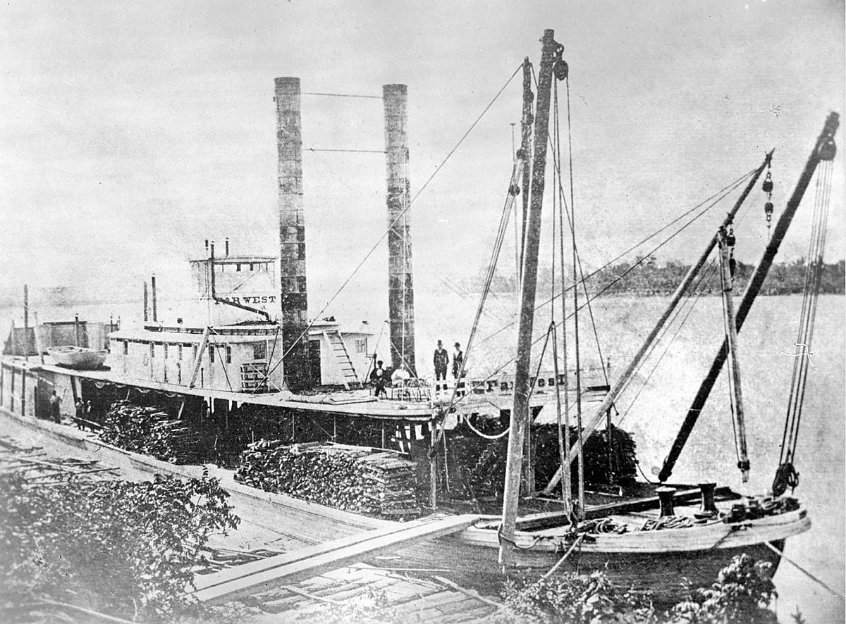 Used Engines For Sale >> Far West (steamship) - Wikipedia