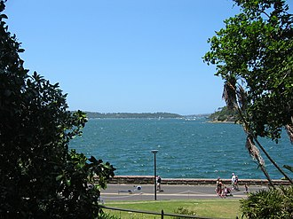 Farm Cove, New South Wales - Image: Farm Cove Sydney 2006