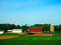 Farm and a Wind Turbine - panoramio.jpg