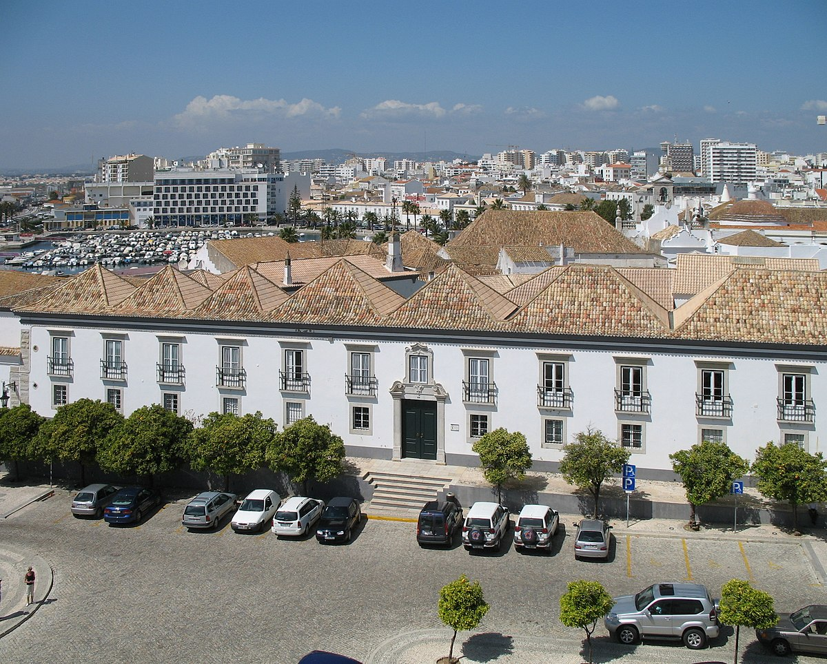 Vieille Ville De Faro Portugal