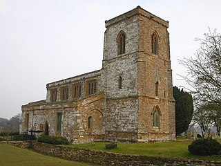 Church in Northamptonshire, England