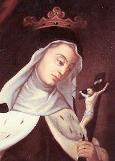 Immagine votiva della beata Francesca d'Amboise