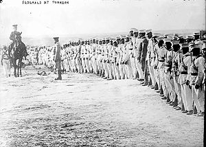 Federales - Federales of the Mexican regular army during the Huerta period