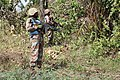 Female combat troops of South African Contingent in MONUSCO on robust foot and moblile patrols 51.jpg