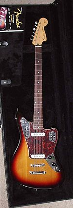 Fender Jaguar Baritone Custom (2005) in the case.jpg