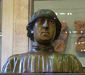 Busto de Fernando I, Museo del Louvre