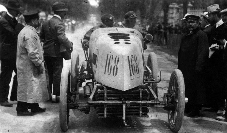 Fernand Gabriel Mors Paris-Madrid 1903