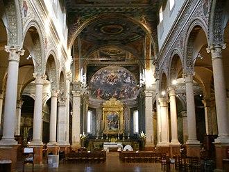 Santa Maria in Vado, Ferrara - Image: Ferrara, santa maria in vado, interno 02