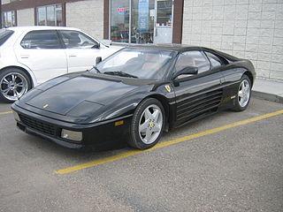 Ferrari 348 V8 flagship sports car manufactured by Italian automobile manufacturer Ferrari as a successor to the 328