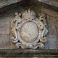 Festung Rosenberg - Eingangstor - Rieneck-Wappen innen.jpg