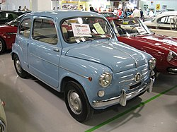Fiat 600 third series of 1960 at oldtimer show in Forli (Italy).jpg