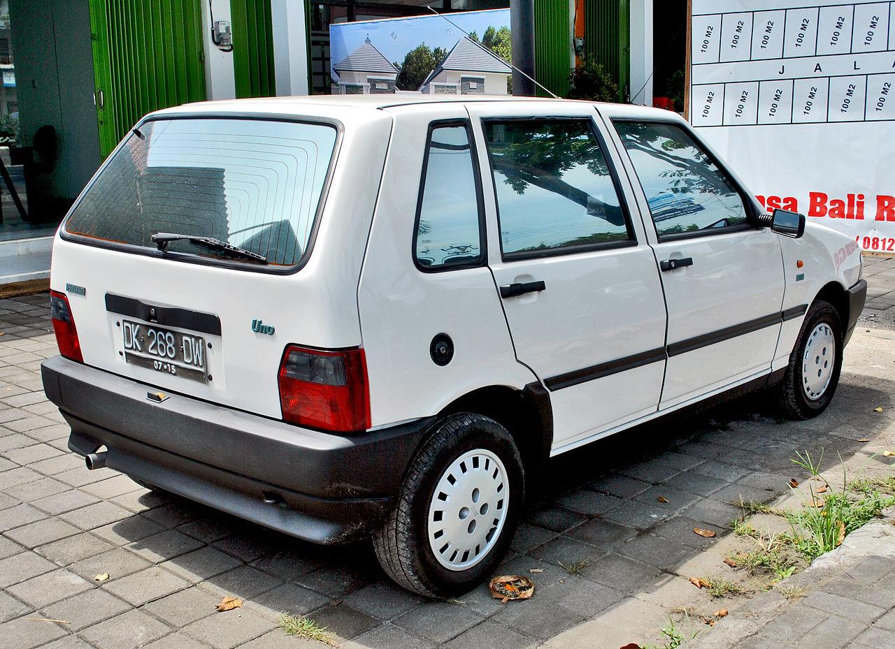File Fiat Uno  Rear   Jimbaran Jpg