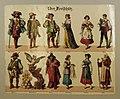 Figurenbogen - Kostüme - Der Freischütz - um 1900.jpg