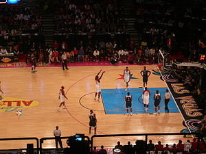 2007 NBA All-Star Game - During the 2007 All-Star Game