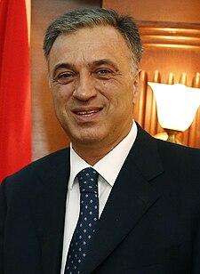 Filip Vujanović Montenegrin politician