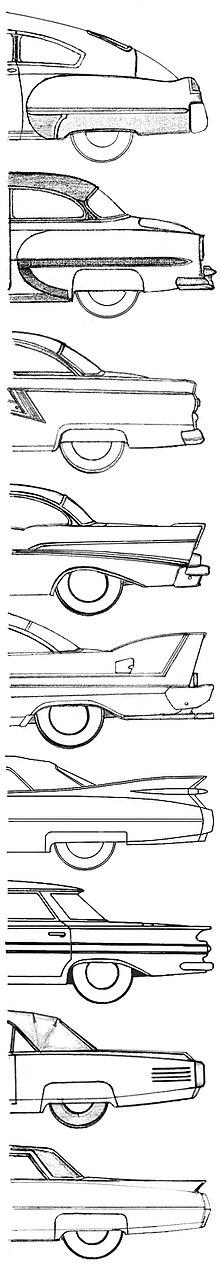 1949—1964 год, автомобили