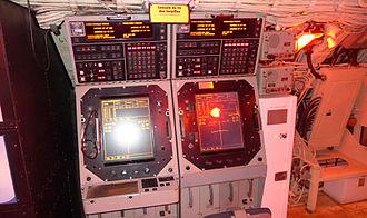 Oberon-class submarine - Torpedo fire control consoles aboard HMCS Onondaga