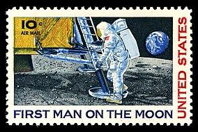 L'Homme marche sur la Lune