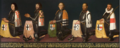 Five land commanders of the Bailiwick of Utrecht, with Jacob Taets van Amerongen at the far right.png