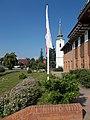 Flags, Reformed Elementary School and Church, 2019 Veresegyház.jpg