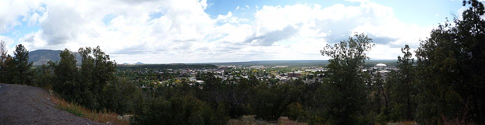 View of Flagstaff from Mars Hill