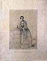 Florence Nightingale. Stipple engraving by F. Holl, 1855, af Wellcome V0004306.jpg