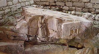Gallaeci - The Fonte do Ídolo (Portuguese for Idol's Fountain), in Braga.