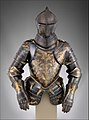 Foot-Combat Armor of Prince-Elector Christian I of Saxony (reigned 1586–91) MET DP272453.jpg