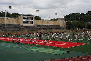 Carnegie Mellon Tartans football - Football at Gesling Stadium.