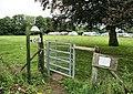 Footpath Gate, Courtyard Craft Centre - geograph.org.uk - 1438196.jpg
