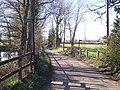 Footpaths on Symons Lane - geograph.org.uk - 1231772.jpg