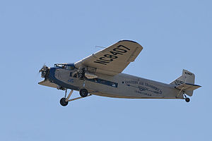 Ford Trimotor - Experimental Aircraft Association (EAA) Ford 4-AT-E Trimotor (2014)