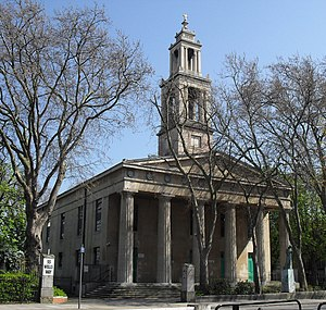 Francis Octavius Bedford - Image: Former St George's Church, Wells Way, Camberwell, London (Io E Code 471458)