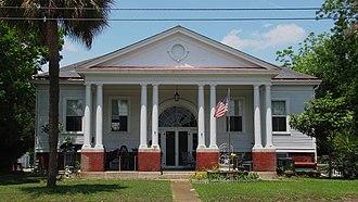 Sullivan's Island Historic District - Post Exchange and Gymnasium, Sullivan's Island Historic District, May 2010