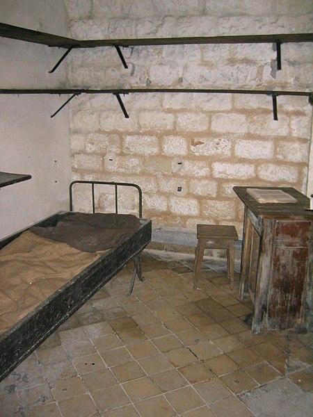 Fort de Vaux - Chambre du Commandant