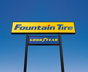 Fountain Tire - Image: Fountain tire office